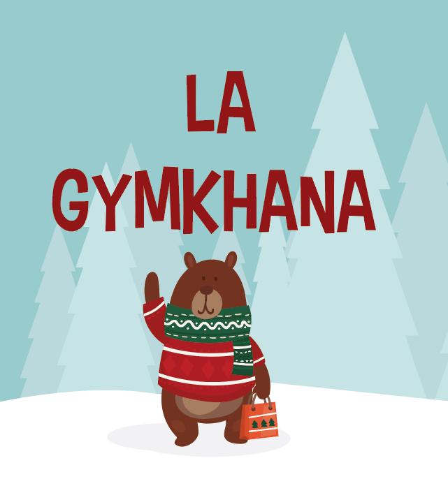 gymkhna bus de la navidad